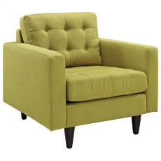 Empress Upholstered Armchair in Wheatgrass Product Image