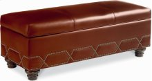 Sojourn Storage Bench (Leather)