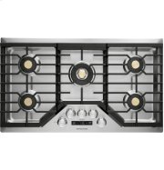 """Monogram 36"""" Deep-Recessed Gas Cooktop (Natural Gas) Product Image"""