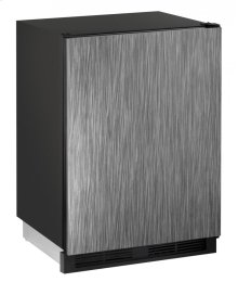 """1000 Series 24"""" Beverage Center With Integrated Solid Finish and Field Reversible Door Swing"""