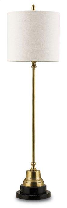 Messenger Brass Table Lamp