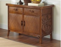 Havana Palm Indoor Rattan & Wicker Buffet Product Image