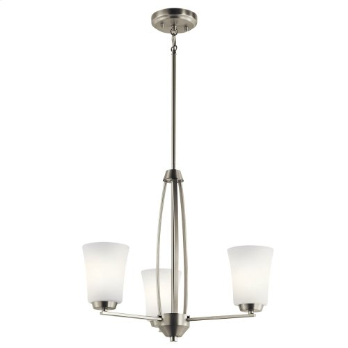 Tao Collection Tao 3 Light Chandelier NI