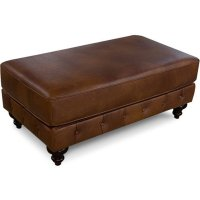 Leather Lucy Ottoman 2R07AL Product Image