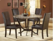 Monaco 5pc Round Dining Set