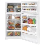 Hotpoint(r) 15.6 Cu. Ft. Recessed Handle Top-Freezer Refrigerator