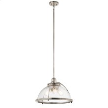 Silberne Collection Silberne 3 Light Pendant in Classic Pewter CLP