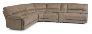 Delia Fabric Power Reclining Sectional
