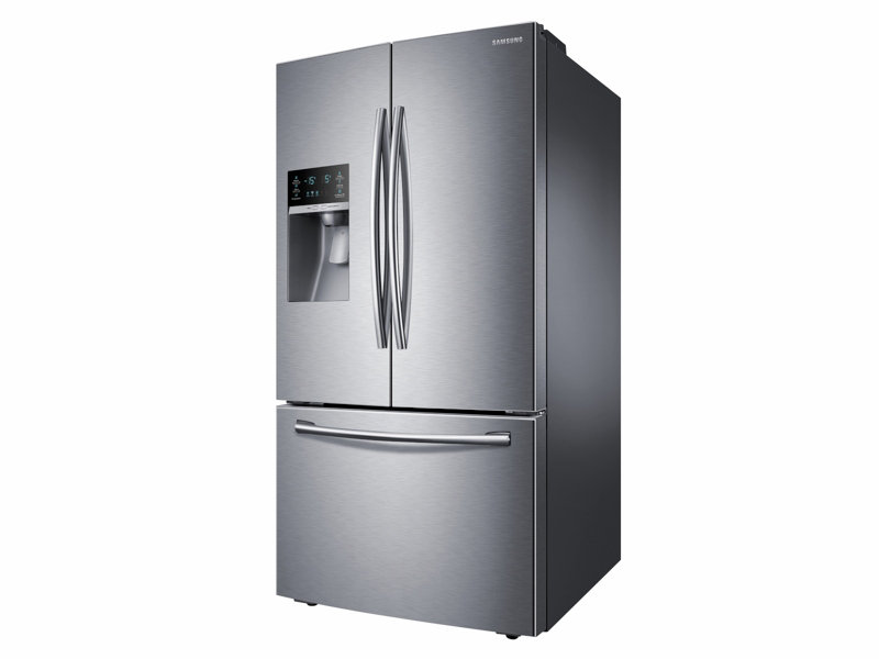 Rf28hfedbsrsamsung 28 Cu Ft French Door Refrigerator With