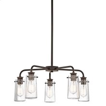 Braelyn Collection Braelyn 5 Light Chandelier - Olde Bronze