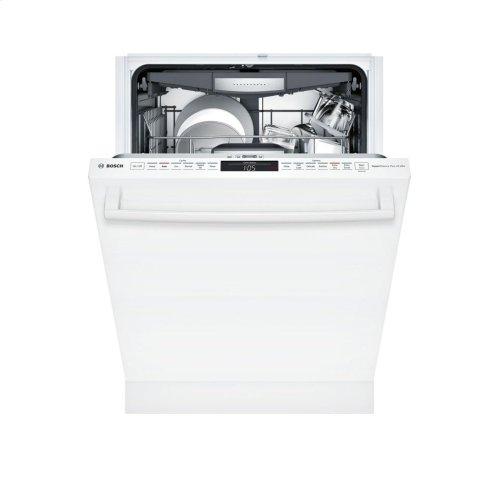 800 Series built-under dishwasher 24'' White SHX878WD2N