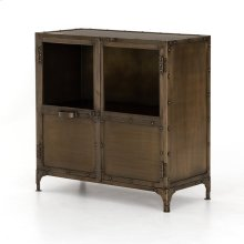 Aged Brass Finish Element Sideboard