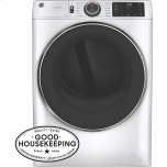 General ElectricGE(R) 7.8 cu. ft. Capacity Smart Front Load Electric Dryer with Steam