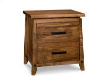Pemberton 2 Drawer Nightstand