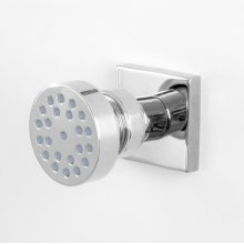 Round Body Spray with Square Flange
