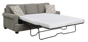 """6/6 King Chofa Sleeper-sand#dtc1405-3 W/3.85"""" Gel Foam Mattress-2 Accent Pillows"""