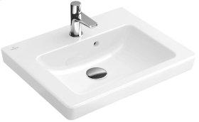 """Handwashbasin 20"""" Angular - White Alpin CeramicPlus"""