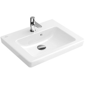 "Handwashbasin 20"" Angular - White Alpin"