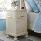 Restoration White Wakefield Bedside Cabinet Product Image