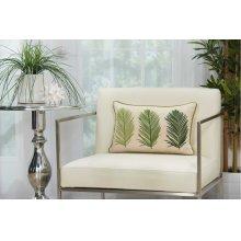 """Royal Palm Ns110 Green 12"""" X 18"""" Lumbar Pillows"""