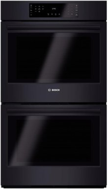 """30"""" Double Wall Oven 800 Series - Black"""