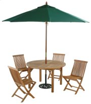 """48"""" Round Table with Umbrella Cutout Product Image"""