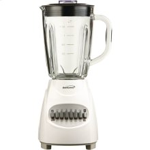 42-Ounce 12-Speed + Pulse Electric Blender with Glass Jar (White)