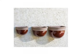 Bordeaux Wall Planter - Set of 3