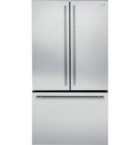 Counter-Depth French-Door Refrigerator with European Handle