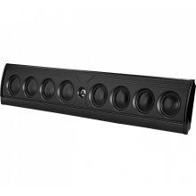 Ultra-slim, ultra-high performance on-wall or on-shelf loudspeaker