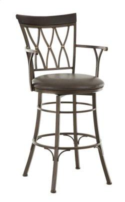 Bali Backless Swivel Bar Chair Product Image