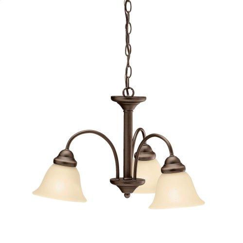 Wynberg 3 Light Chandelier Olde Bronze®