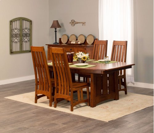 """McCoy Trestle Table, 32"""" Butterfly Leaf"""