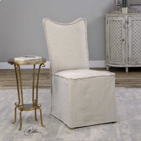 Lenore, Armless Chair, Oatmeal, 2 Pe