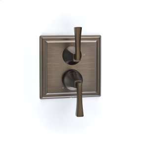 Bronze Hudson (Series 14) Dual Control Thermostatic with Volume Control Valve Trim