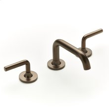 Widespread Lavatory Faucet Taos Series 17 Bronze