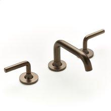 Widespread Lavatory Faucet Taos Series 17 Bronze