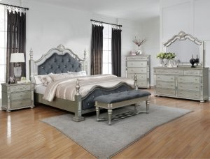 Crown Mark B7660 Sterling Queen Bedroom