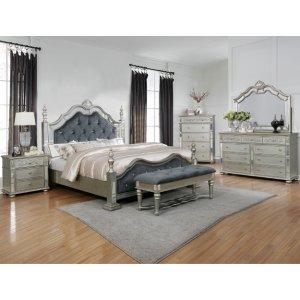 Crown Mark B7660 Sterling King Bedroom