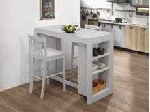 Ash Grey Counter Height Stool