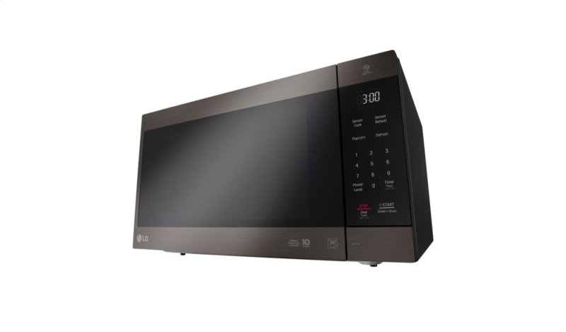 Hidden Additional Lg Black Stainless Steel Series 2 0 Cu Ft Neochef Countertop Microwave With Smart