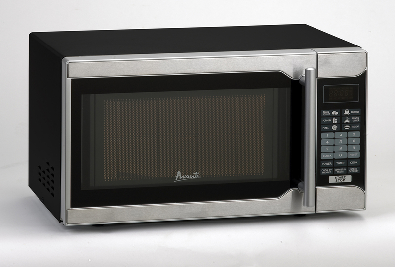 0.7 CF Touch Microwave - Black Cabinet w/Stainless Steel Front  BLACK CABINET W/STAINLESS STEEL FRONT