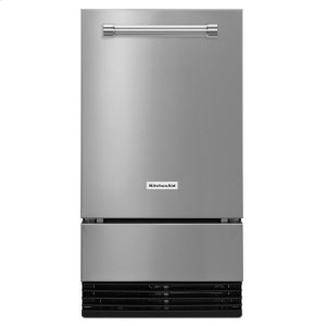 Kitchenaid18'' Automatic Ice Maker - Stainless Steel