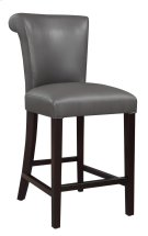 "Emerald Home Briar III 24"" Bar Stool Gunmetal Gray D109-24-13 Product Image"