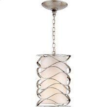 Visual Comfort S5045BSL-L Barry Goralnick Bracelet 1 Light 8 inch Burnished Silver Leaf Pendant Ceiling Light
