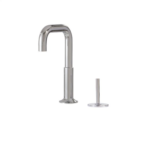2-piece lavatory faucet with side joystick