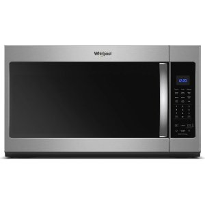1.9 cu. ft. Capacity Steam Microwave with Sensor Cooking - FINGERPRINT RESISTANT STAINLESS STEEL