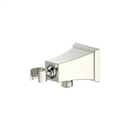 Hand Shower Wall Bracket with Outlet Leyden (series 14) Satin Nickel
