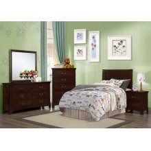 Tatiana Warm Brown Twin Headboard