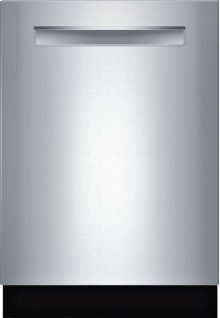 "Benchmark® 24"" Flush Handle Dishwasher Benchmark Series- Stainless steel SHP87PW55N"